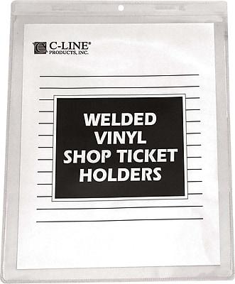 C-Line® Vinyl Shop Seal Ticket Holder