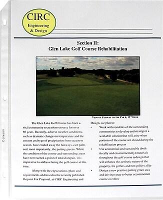 C-Line® Top Load Sheet Protector, Non-Glare