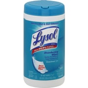 Lysol® Disinfecting Wipes, Ocean Fresh® Scent, 80 Wipes/Tub