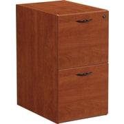 Office Star Napa Collection File/File Pedestal, Assembled, Cherry