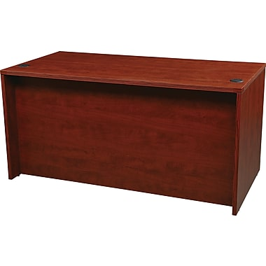 Office Star - Coquille de bureau 60 po de la collection Napa, fini cerisier