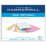 "IP Hammermill® Fore® MP 8 1/2"" x 11"" 20 lbs. Colored Copy Paper, Gray, 500/Ream"