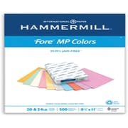 "IP Hammermill® Fore® MP 30PC 8 1/2"" x 11"" 24 lbs. Colored Copy Paper, Blue, 500/Ream"
