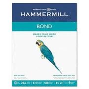 "IP Hammermill® 8 1/2"" x 11"" 24 lbs. Multipurpose Bond Paper, White, 5000/Case"
