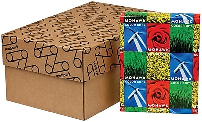 """Mohawk® Color Copy 98 8 1/2"""" x 11"""" 28 lbs. Smooth Imaging Paper, Bright White, 500/Ream"""