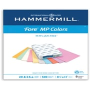 "IP Hammermill® Fore® MP 8 1/2"" x 11"" 20 lbs. Colored Copy Paper, Cream, 500/Ream"