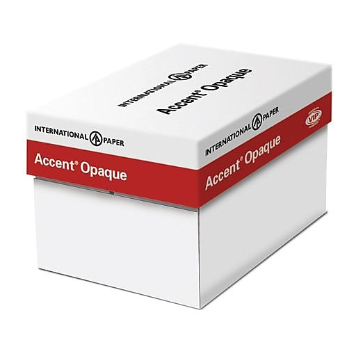 Accent Opaque 100 Lbs Digital Smooth Paper 12 X 18 White 250