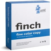 "Finch® Fine 8 1/2"" x 11"" 28 lbs. Ultra Smooth Color Copy Paper, Bright White, 4000/Case"