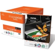 "Imageprint® 8 1/2"" x 11"" 20 lbs. Bond Copy Paper, Bright White, 5000/Case"
