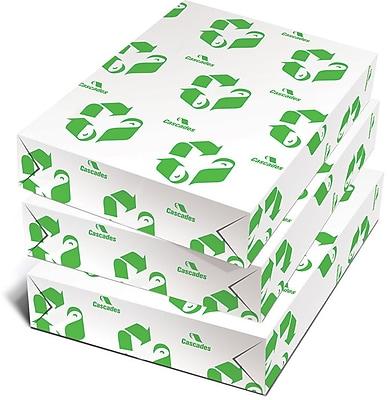 "Cascades Rolland HiTech 50™ 8 1/2"" x 11"" 60 lbs. Smooth Laser Paper, Bright White, 4000/Case"