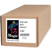 "Magiclee/Magic VSF 24"" x 50' 12.5 mil Valeron polyolefin Matte Banner, Bright White, Roll"