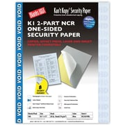 "Blanks/USA® Kan't Kopy® 8 1/2"" x 11"" 20 lbs. K1 Carbonless Security Paper, Blue, 500/Pack"