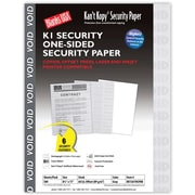 "Blanks/USA® Kan't Kopy® 8 1/2"" x 11"" 60 lbs. K1 Security Paper, Void Gray, 500/Pack"