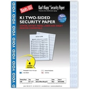 """Blanks/USA® Kan't Kopy® 8 1/2"""" x 11"""" 60 lbs. K1 Two-Sided Security Paper, Void Blue, 500/Pack"""