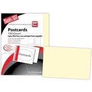 "Blanks/USA® 8 1/2"" x 5 1/2"" 80 lbs. Smooth Digital Postcard, Natural, 50/Pack"