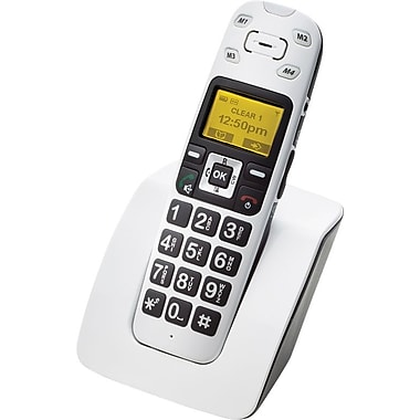 Clearsounds A400 Amplified Talking Cordless Telephone