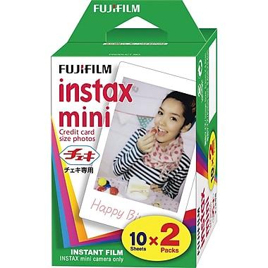 Fujifilm - Film instantané Instax Mini, paq./2