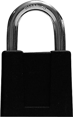 Sesamee® K500 Keyless Padlock, Black Epoxy