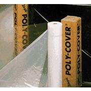 Warp Brothers® Poly-Cover® Clear Plastic Sheet, 200'(L) x 12'(W) x 2 mil(T)