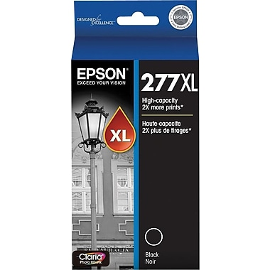 Epson 277XL (T277XL120) Black Ink Cartridge, High-Capacity