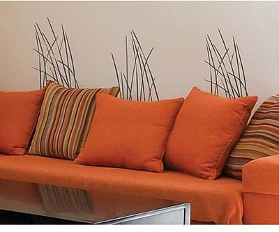 RoomMates Mia & Co Fresh Breeze Peel and Stick Transfer Wall Decal, Dark Gray