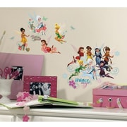RoomMates Disney Fairies Secret of the Wings Peel and Stick Wall Decal With Glitter