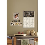 RoomMates Family and Friends Dry Erase Calendar Peel and Stick Wall Decal