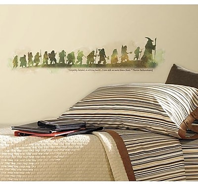 RoomMates The Hobbit Quote Peel and Stick Wall Decal 203055