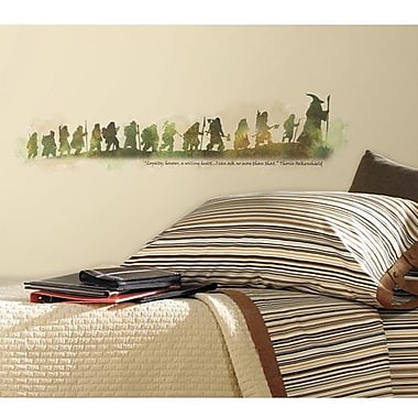 RoomMates The Hobbit Quote Peel and Stick Wall Decal