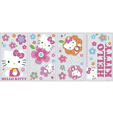 RoomMates Hello Kitty Floral Boutique Peel and Stick Wall Decal