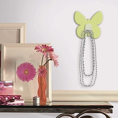 RoomMates Butterfly Magic Hook, Green