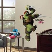 RoomMates Teenage Mutant Ninja Turtles Raphael Peel and Stick Giant Wall Decal