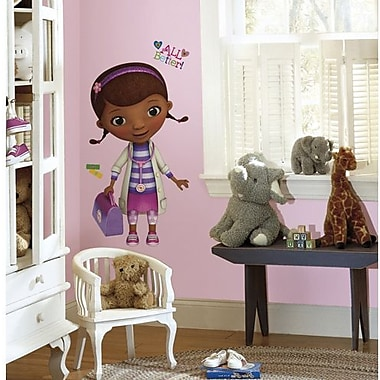 RoomMates Doc McStuffins Peel and Stick Giant Wall Decal