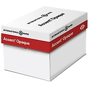 """Accent Opaque Digital Smooth Paper, 11"""" x 17"""", 100 lbs., 96 Brightness, 250 Sheets/Ream (188081l)"""