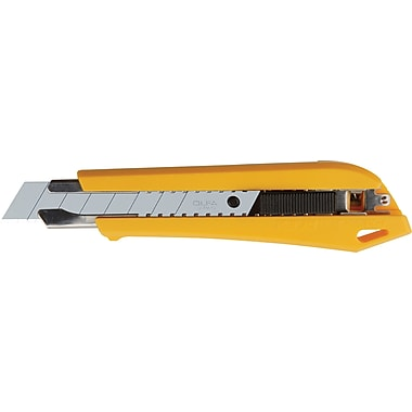 OLFA Snap It 'N' Trap It Heavy Duty Auto-Lock Utility Knife