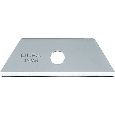 OLFA Rounded Tip Replacement Blade for Flex Guard Safety Knife- 10/Pack