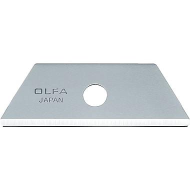 OLFA - Lames de rechange à bout arrondi pour couteau utilitaire de sécurité Flex Guard - paq./10