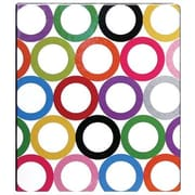 Sugarland Collection 1-Inch Round 3-Ring Binder, Multicolor (95693)