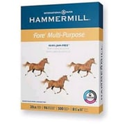 "IP Hammermill® Fore® 8 1/2"" x 11"" 20 lbs. 3HP Multipurpose Bond Paper, White, 5000/Case"