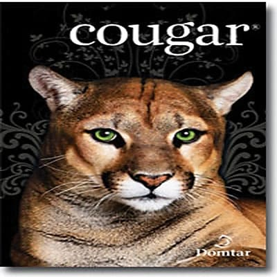 "Domtar Cougar® 11"" x 17"" 70 lbs. Digital Smooth Laser Paper, Natural, 2000/Case"