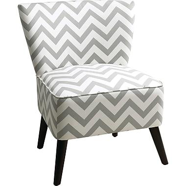 Office Star Ave Six Fabric Apollo Chair, Zig Zag Gray (APL-Z13)