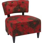 Office Star Ave Six® Fabric Boulevard Chair, Groovy Red