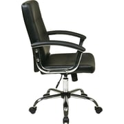Office Star Ave Six® Faux Leather Malta Office Chairs
