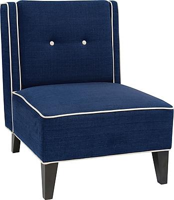 Office Star Ave Six® Fabric Marina Chair, Indigo