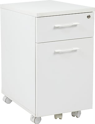 ... 2 Drawer Mobile Pedestal File Cabinet,. Rollover Image To Zoom In.  Https://www.staples 3p.com/s7/is/