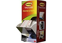 Command Poster Strips Cabinet Pack, 100/Pack