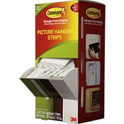 Command™ Medium Picture Hanging Strips, White, 2 Pairs/Set, 50 Sets/Pack (17201CABPK)