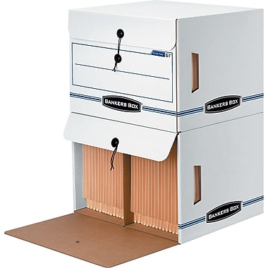 Bankers Box® Side-Tab™ Drop-Front Storage Box (61)