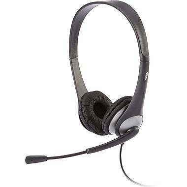 Cyber Acoustics – Casque d'écoute stéréo AC-204 avec microphone