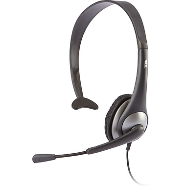 Cyber Acoustics AC-104 Mono Headset with Microphone